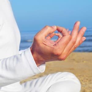 Stressreduktion durch Meditation und Yoga